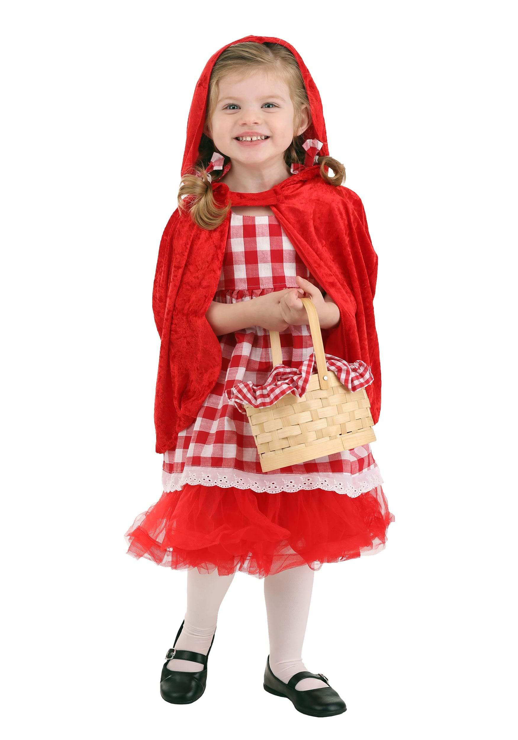 Toddler Red Riding Hood Tutu Girls Costume