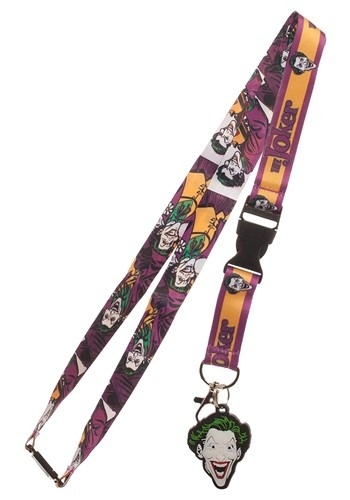 DC Batman Joker Lanyard1