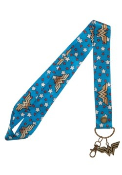 DC Wonder Woman Wide Lanyard1