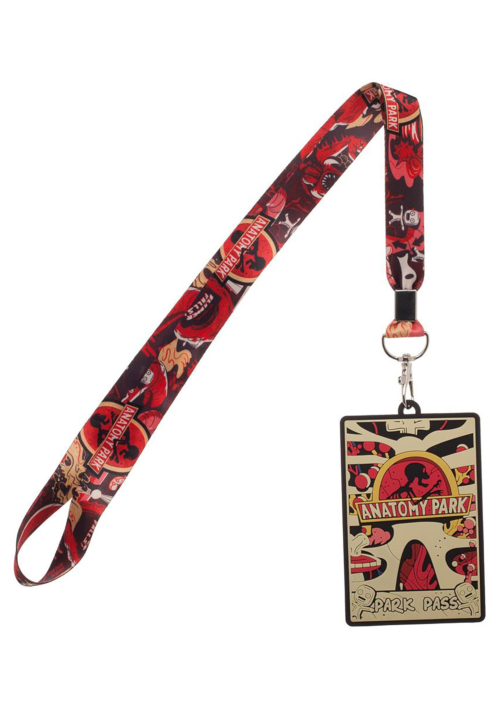 Disney Cars Lightning McQueen Lanyard Necklace  ID School Work Badge Holder