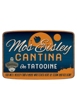 Mos Eisley Cantina Die Cut Sign w/ Bottle Opener