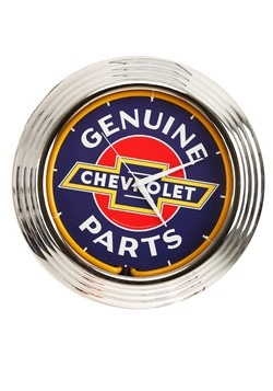 Chevrolet Neon Clock