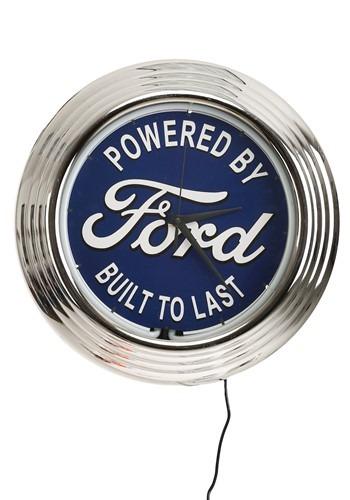 Ford Neon Clock