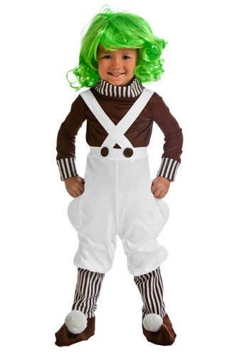 Chocolate Factory Worker Toddler Costume