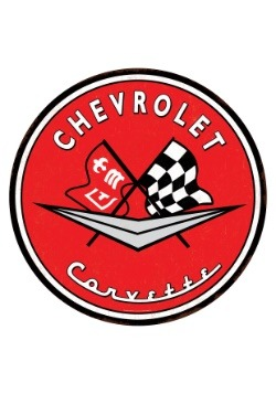 Chevrolet Corvette Tin Sign