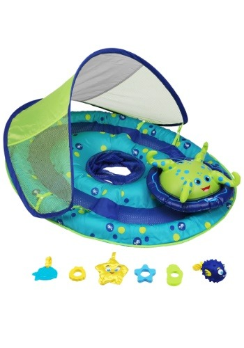 Octopus Baby Activity Center with Canopy1