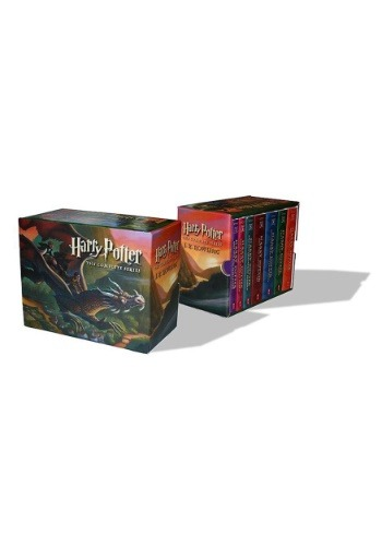 Harry Potter Paperback Boxset Books 1-7