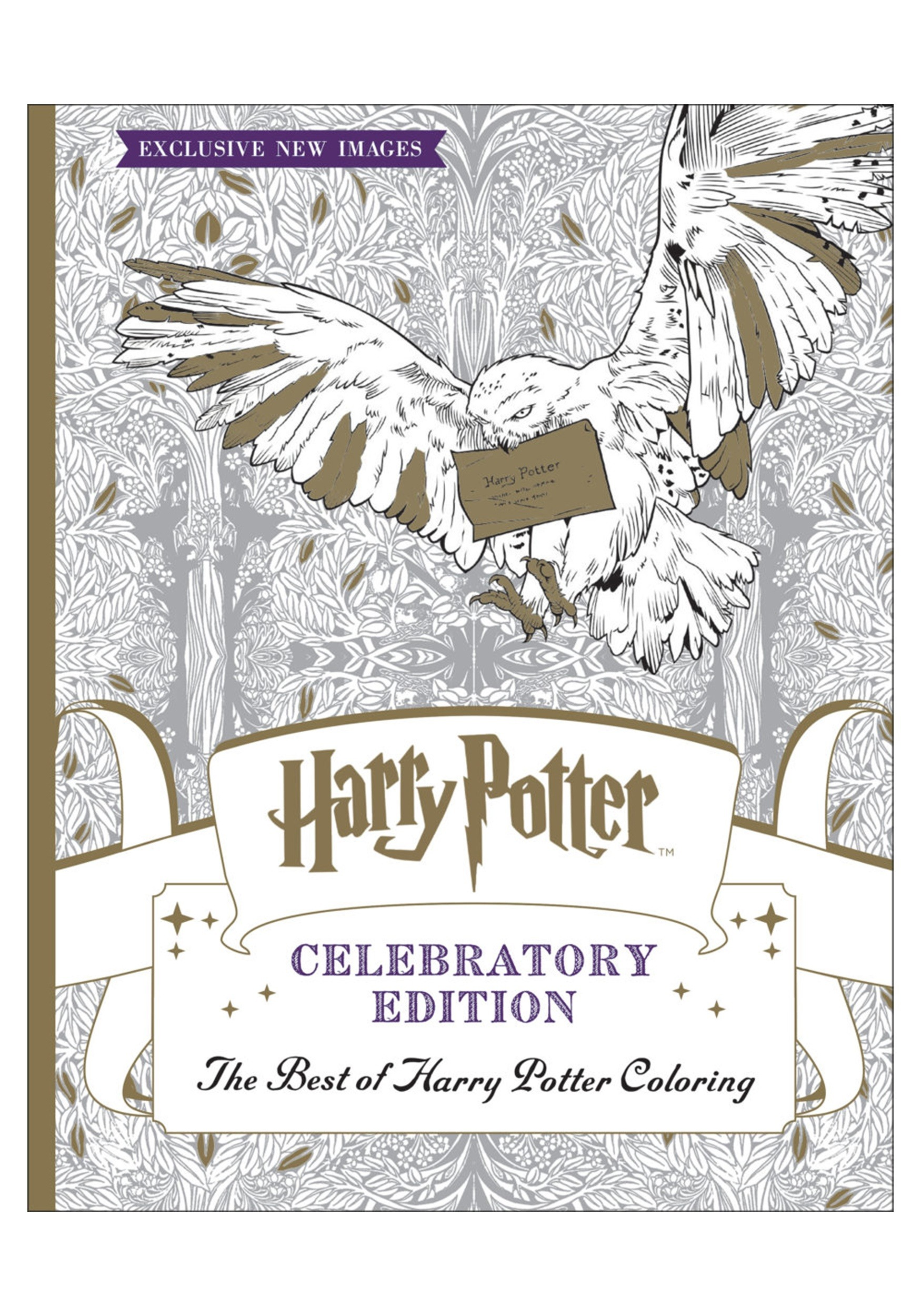 The Best of Harry Potter Coloring Book Celebratory Edition