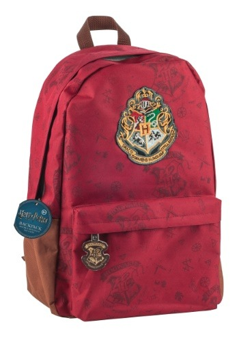Hogwarts Crest Red Backpack