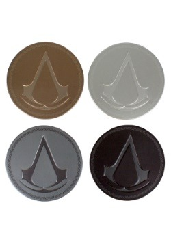 Assassins Creed Metal Coasters 4 Pack