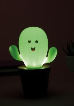 Cactus Lamp Lit Up