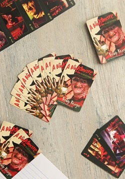 A Nightmare on Elm Street Playing Card Set Game