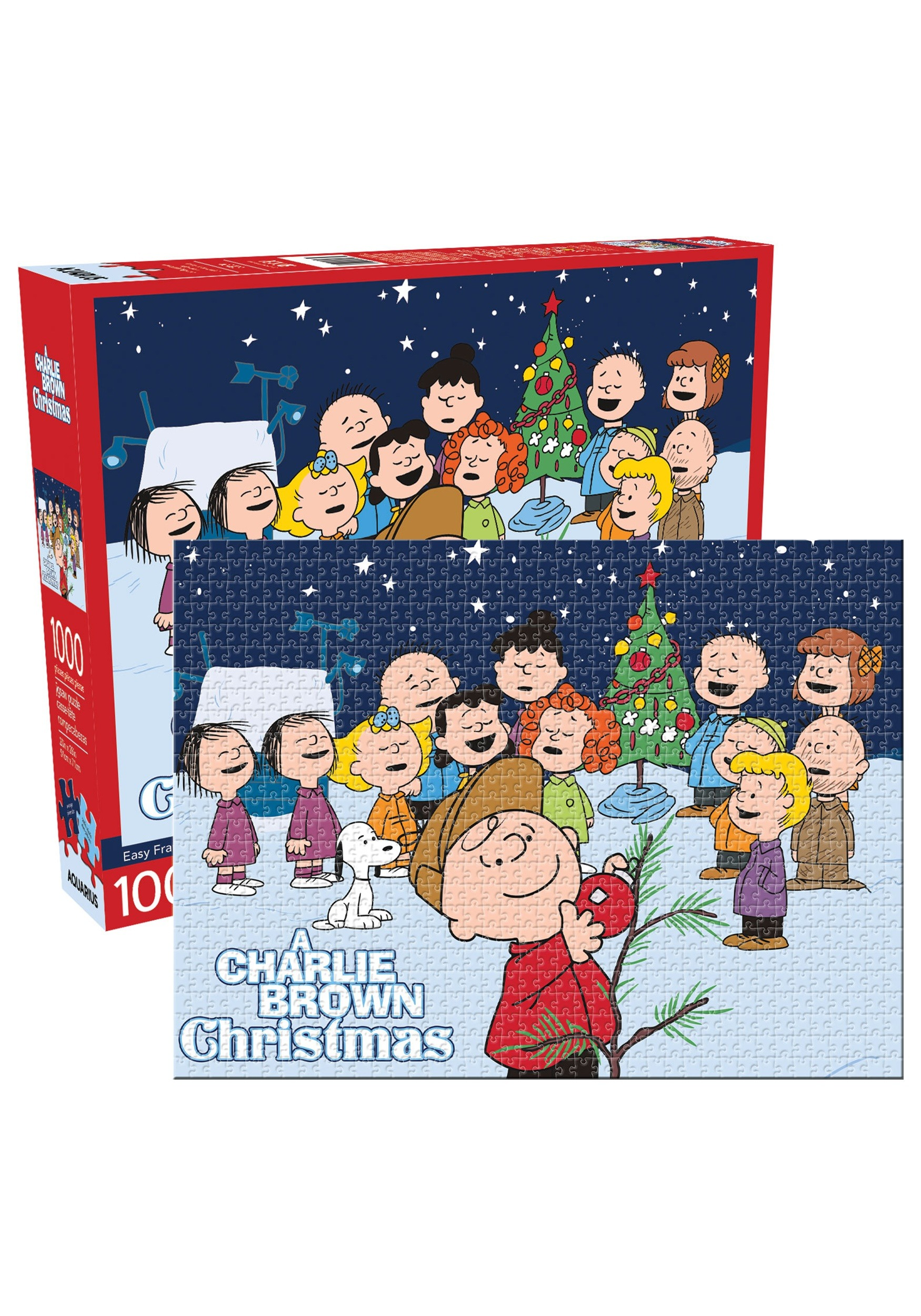 Charlie Brown Christmas Images.Peanuts A Charlie Brown Christmas 1000 Piece Puzzle