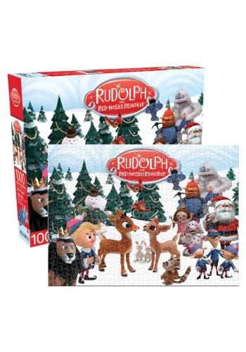Rudolph the Red-Nosed Reindeer 500 Piece Puzzle