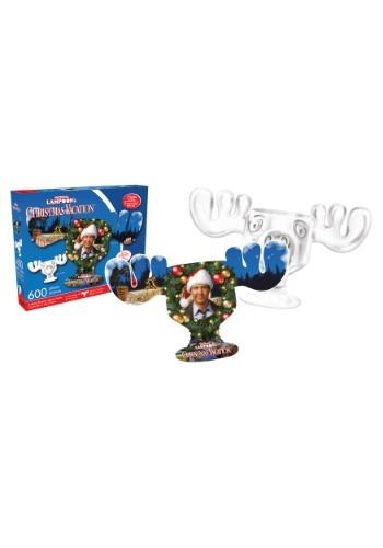 Christmas Vacation- Clark and Moose Mug 600 Piece Puzzle