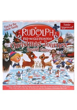 Rudolph the Red-Nosed Reindeer Christmas Journey Board New