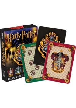 Harry Potter Hogwarts Crests Playing Cards