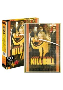 Kill Bill Poster 500 Piece Puzzle