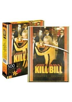 Kill Bill Poster 500 Piece Puzzle
