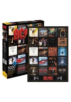 AC/DC Discography 1000 Piece Puzzle