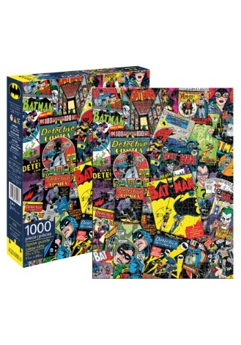 DC Comics Batman Collage 1000 Piece Puzzle
