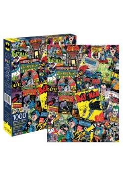 DC Comics Batman Collage 1000 Piece Puzzle