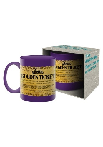 Willy Wonka- Golden Ticket 11oz Mug