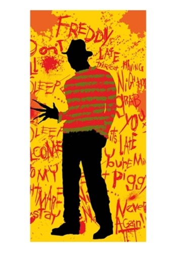 Nightmare On Elm Street Freddy Beach / Bath Towel