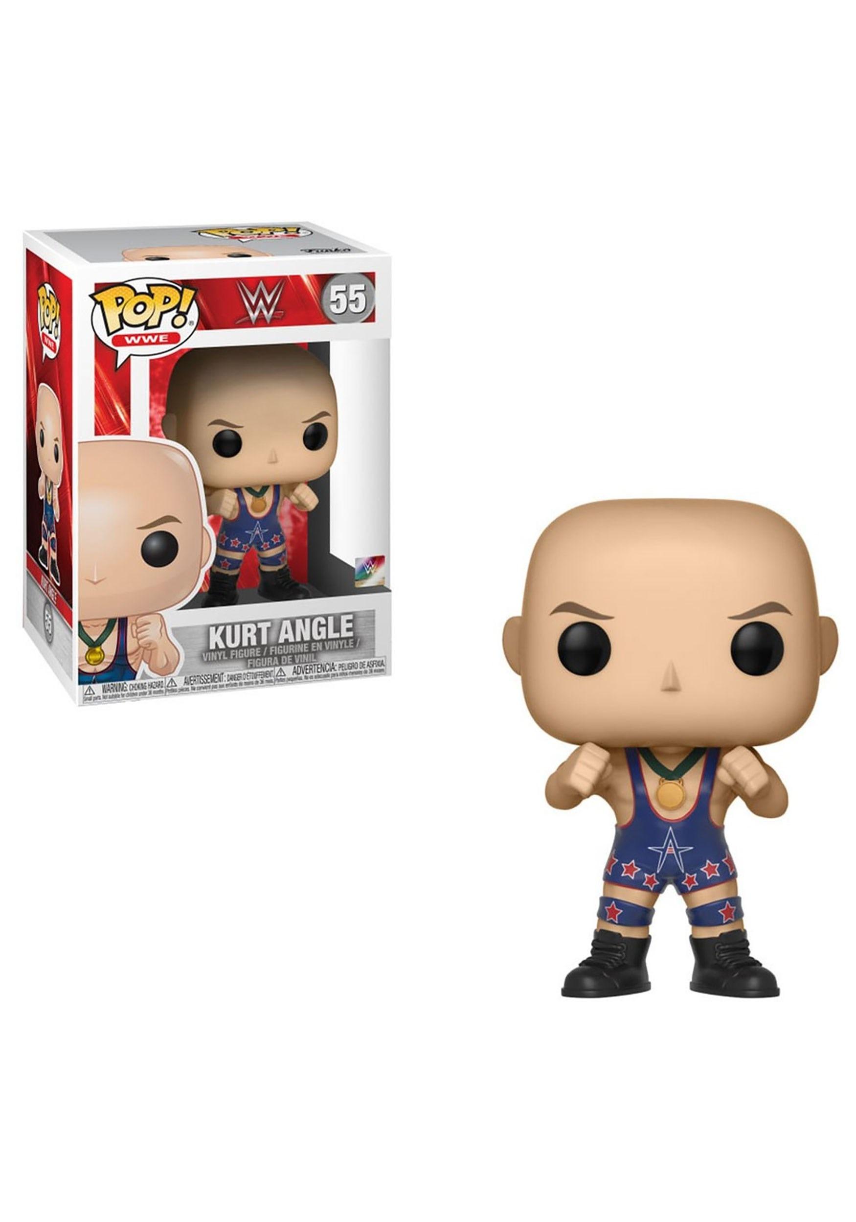 c11ad34b POP! WWE- Kurt Angle (Ring Gear) Vinyl Figure