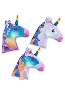 Reversible Sequin Unicorn Pillow Update