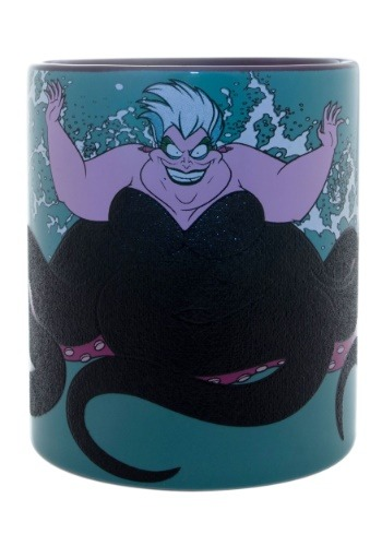 Disney Little Mermaid Ursula Splash 14 oz Ceramic Mug