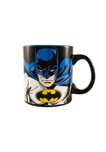 Batman Face and Logo 20 oz Jumbo Ceramic Mug