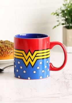 Wonder Woman Logo 20 oz Jumbo Ceramic Mug