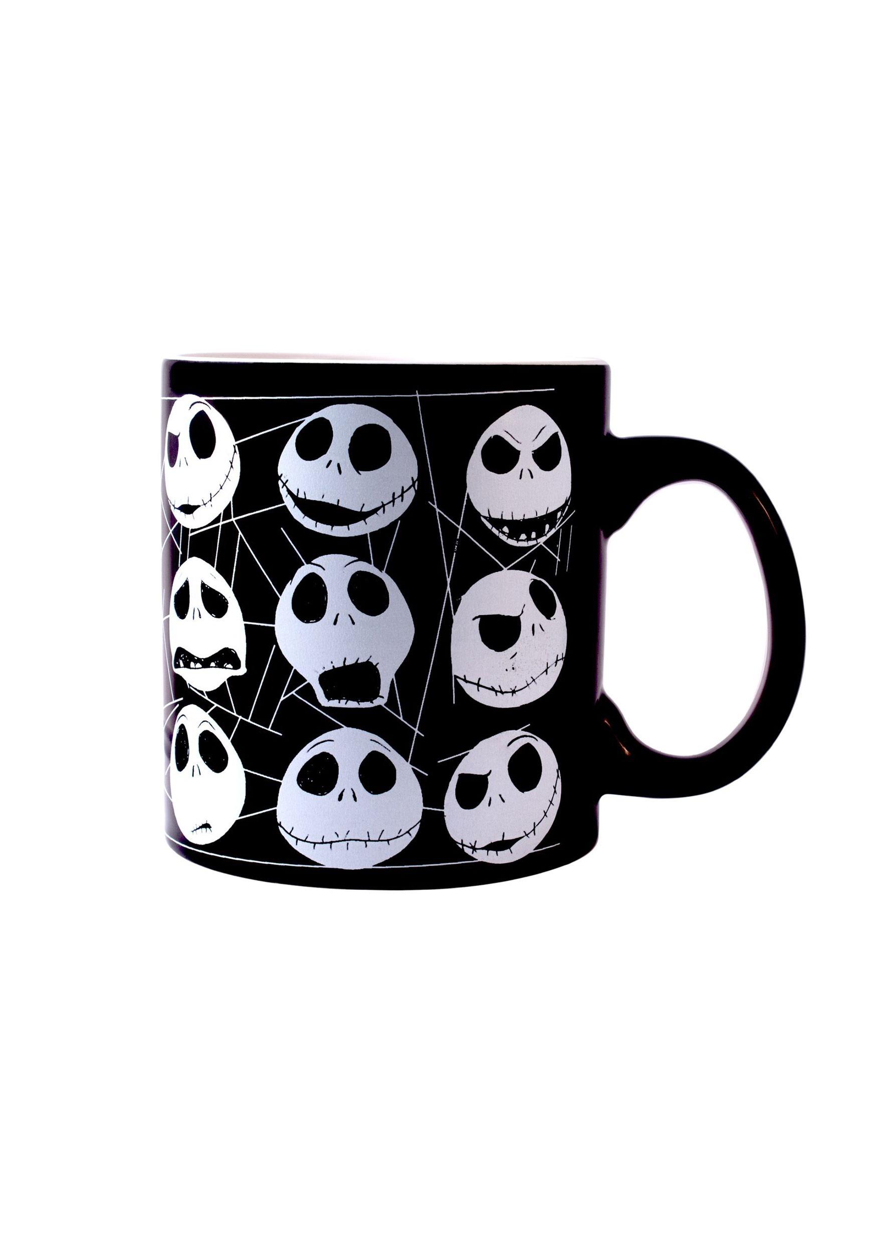 Nightmare Before Christmas Jack Faces Glow-in-the-Dark Mug