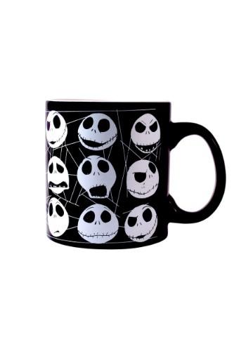 Nightmare Before Christmas Jack Faces Mug