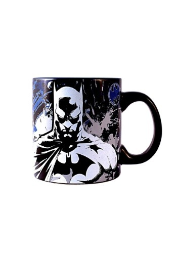 Batman Splatter 20 oz Glow in the Dark Jumbo Ceramic Mug