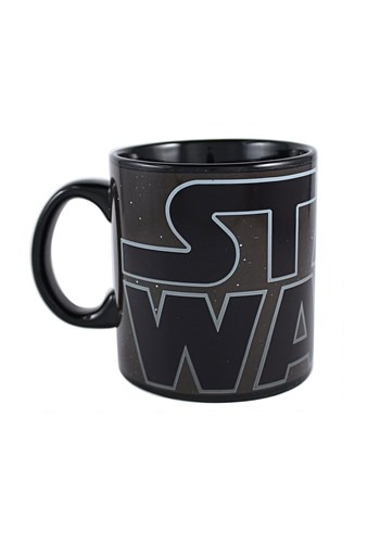 Star Wars Classic Logo 20 oz Heat Reveal Jumbo Ceramic Mug 1
