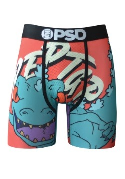 PSD Underwear- Rugrats Reptar Gold Grill Mens Boxer Briefs