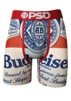 PSD Underwear Budweiser Classic Mens Boxer Briefs