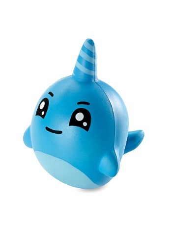 "Squishy Squad 6"" Jumbo Narwhal Squishy Toy"
