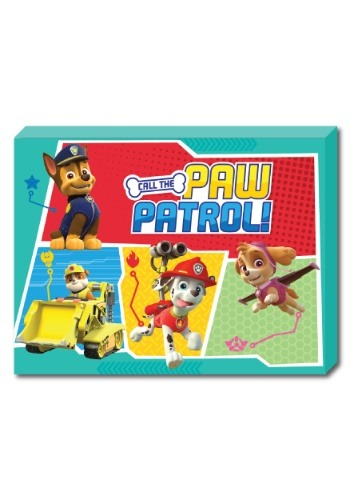"Chase Paw Patrol 12"" x 16"" portrait Canvas with LED"
