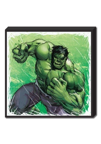 "Hulk Molded Foam Art 15""x15"""
