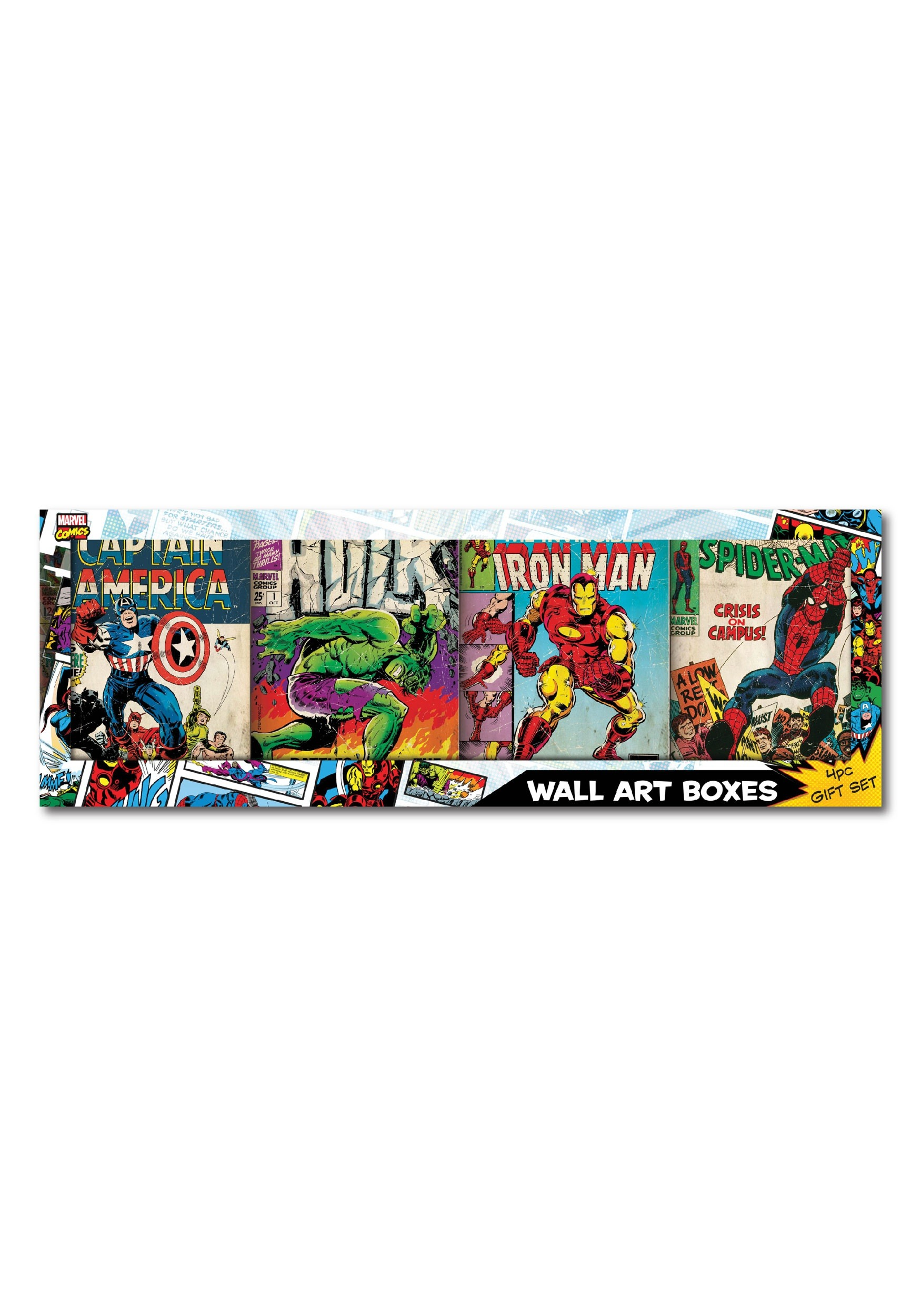 "Avengers Comic Book Cover Gift Set 30"" x 10.5"" - ddd51da81ceca6d , Avengers-Comic-Book-Cover-Gift-Set-30-x-10.5-13428463 , Avengers Comic Book Cover Gift Set 30"" x 10.5"" , Array , 13428463 , Wall Decor > Avengers > Adult > No Filter > unisex , EDGM79B001-GFT-ST"