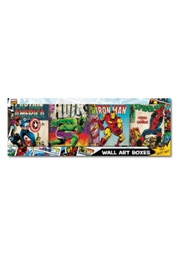 "Avengers Comic 30"" x 10.5"" Book Cover Gift Set"