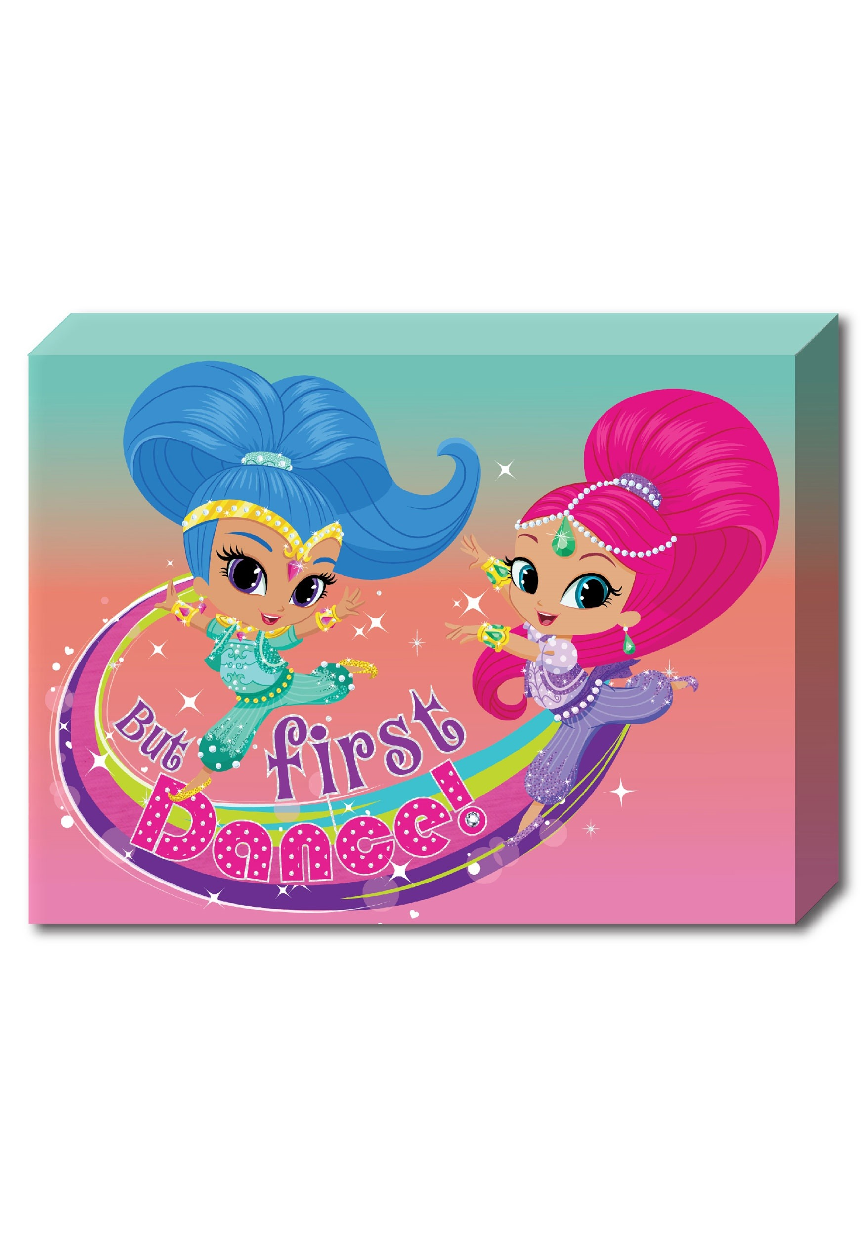 Shimmer And Shine Dance 10 X13 5 Canvas