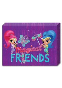 Shimmer and Shine Friends 10 x13 5 Canvas