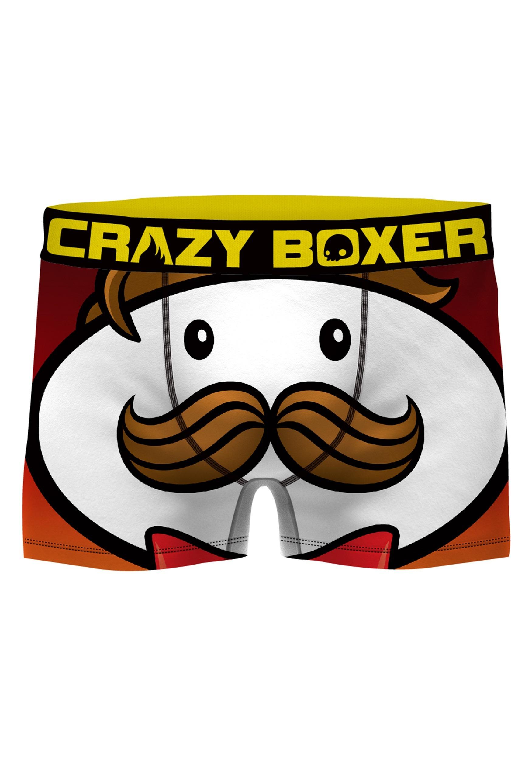 cf4a89ccf91e Crazy Boxers Men's Pringles Boxer Briefs