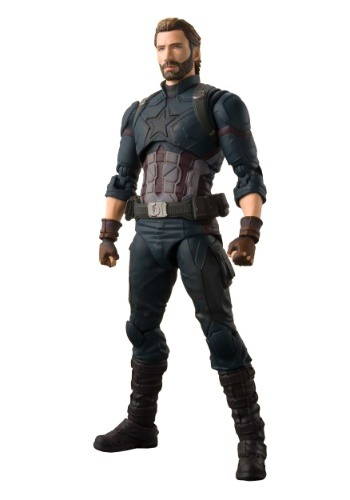 Avengers: Infinity War Captain America Bandai Action Figure1