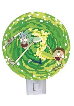 Rick and Morty Portal Night Light