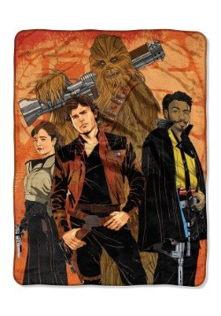 "Han Solo Galactic Swag 46"" x 60"" Super Soft Throw"